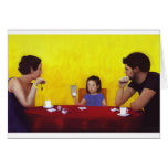 Tiempo de la familia tarjetas