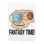 Tiempo de la fantasía iman flexible