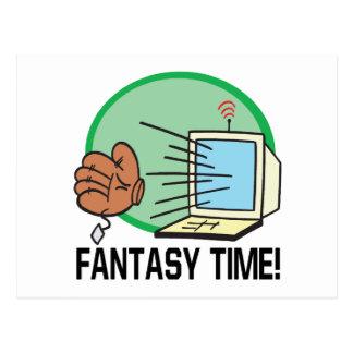 Tiempo de la fantasía postal