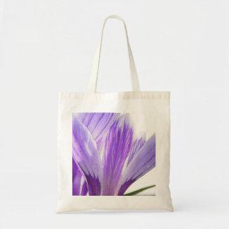 ¡Tiempo de la flor - azafrán de la primavera! Bolsas