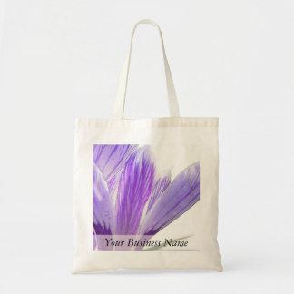 ¡Tiempo de la flor - azafrán de la primavera! Bolsa