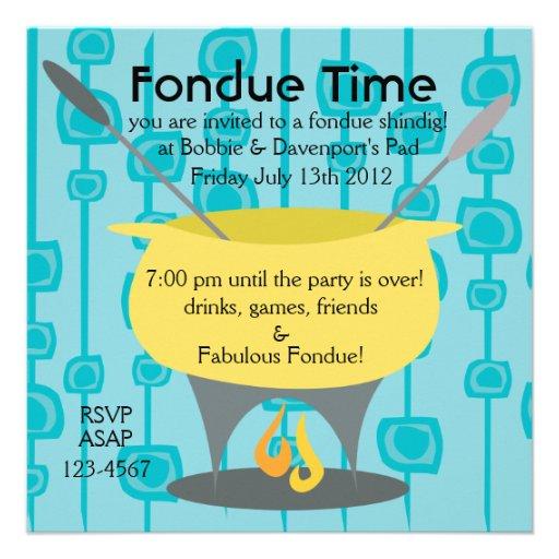 """¡Tiempo de la """"fondue""""! Comunicado Personal"""
