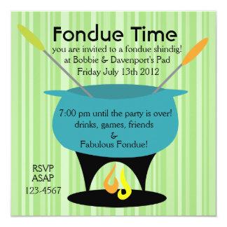 """¡Tiempo de la """"fondue""""! Comunicados Personalizados"""
