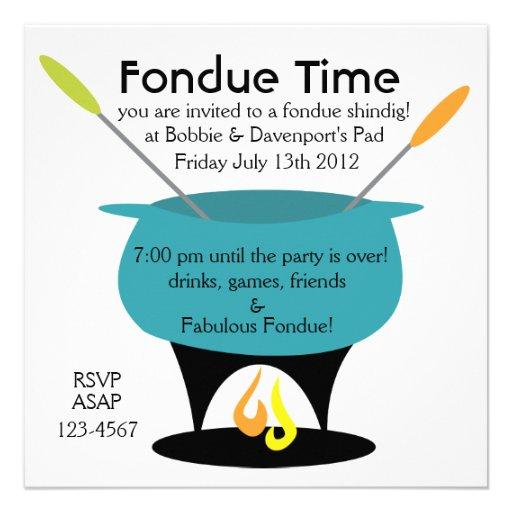 """¡Tiempo de la """"fondue""""! Anuncios"""