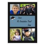 Tiempo de la graduación - invitación de la graduac