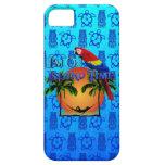 Tiempo de la isla en hamaca iPhone 5 Case-Mate coberturas