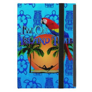Tiempo de la isla en hamaca iPad mini protector
