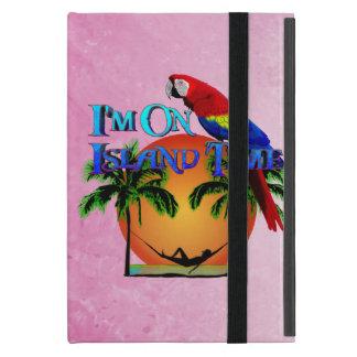 Tiempo de la isla en hamaca iPad mini funda