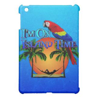 Tiempo de la isla en hamaca iPad mini cárcasas
