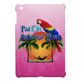 Tiempo de la isla en hamaca iPad mini cárcasa