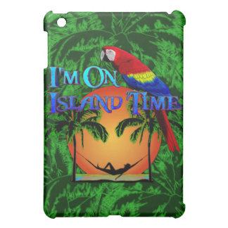 Tiempo de la isla en hamaca iPad mini coberturas