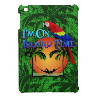 Tiempo de la isla en hamaca iPad mini fundas