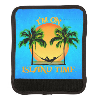 Tiempo de la isla funda para asa de maleta