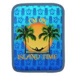 Tiempo de la isla funda para iPads