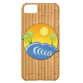 Tiempo de la isla funda para iPhone 5C