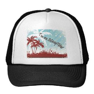 Tiempo de la isla gorras
