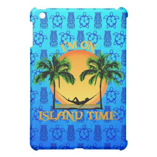 Tiempo de la isla iPad mini protectores