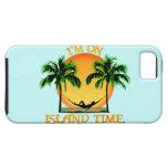 Tiempo de la isla iPhone 5 carcasas