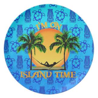 Tiempo de la isla platos