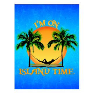 Tiempo de la isla postales