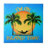 Tiempo de la isla tejas