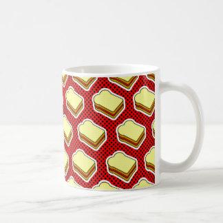 Tiempo de la jalea de la mantequilla de cacahuete  tazas de café