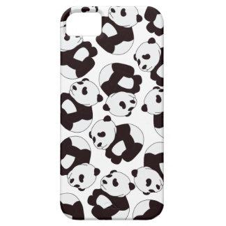 ¡Tiempo de la panda! Caso Funda Para iPhone 5 Barely There