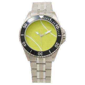 Tiempo de la pelota de tenis relojes