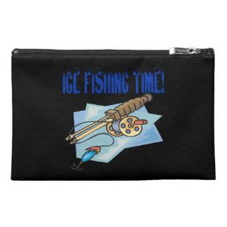 Tiempo de la pesca del hielo