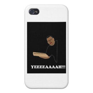 Tiempo de la pizza con Ted iPhone 4/4S Carcasa