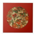 ¡Tiempo de la pizza - pidamos una pizza! Tejas Ceramicas