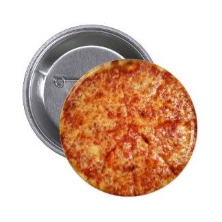 ¡Tiempo de la pizza! Pin Redondo De 2 Pulgadas