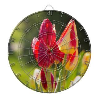 Tiempo de la punta del pie del tulipán tablero dardos