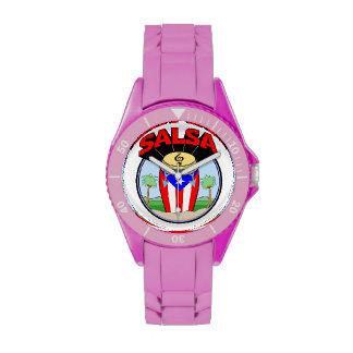 ¡Tiempo de la salsa! Relojes De Mano