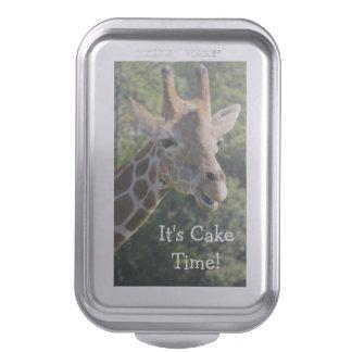 Tiempo de la torta de la jirafa molde para pasteles