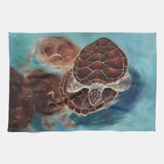 Tiempo de la tortuga toallas