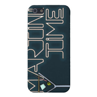Tiempo de Martini iPhone 5 Carcasas