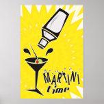 Tiempo de Martini Póster