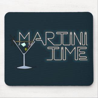 Tiempo de Martini Tapetes De Ratón