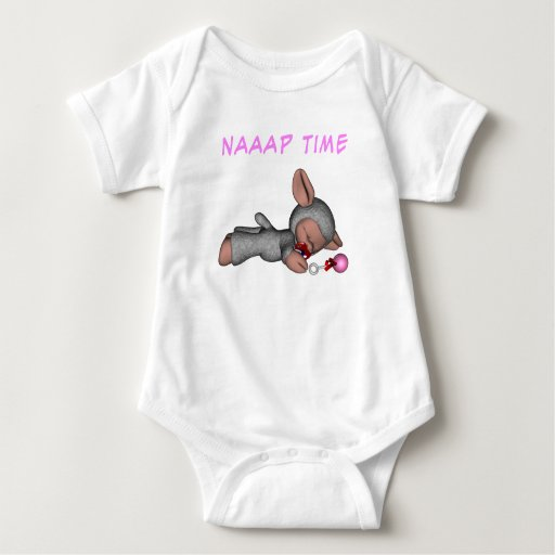 Tiempo de Naaap - chica Body Para Bebé