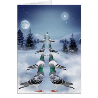 Tiempo de Navidad Tarjeta De Felicitación