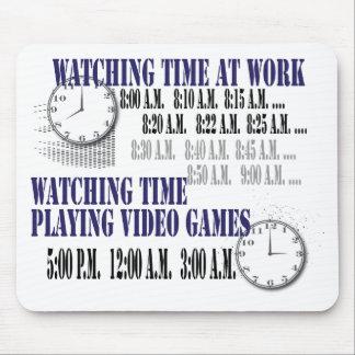 tiempo de observación en el trabajo mouse pads