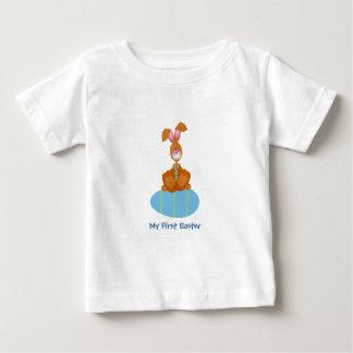 Tiempo de Pascua (personalizable) Playera De Bebé