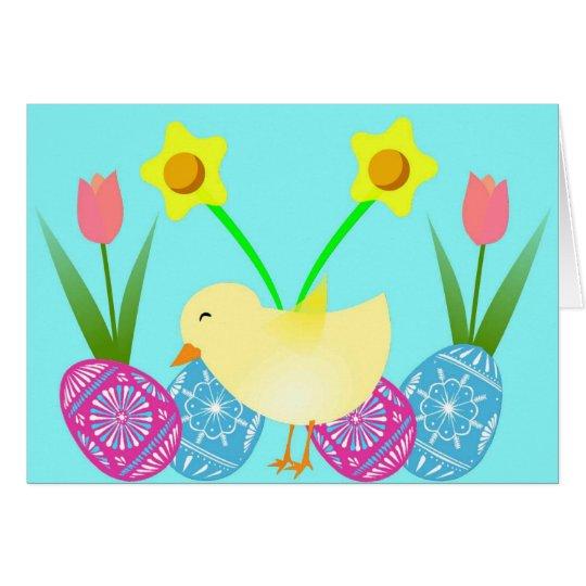 Tiempo de Pascua Tarjeta De Felicitación