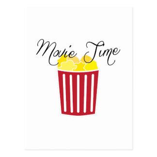 Tiempo de película postal