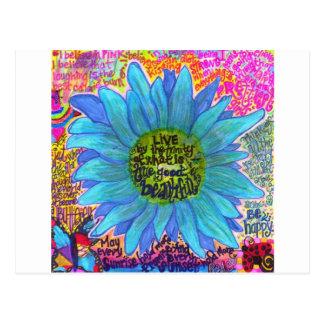 Tiempo de primavera tarjeta postal