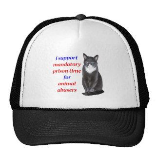 Tiempo de prisión obligatorio gorras