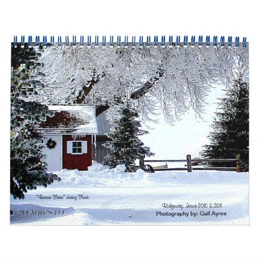 Tiempo de Ridgeway Calendarios
