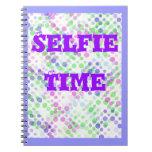 Tiempo de Selfie del cuaderno