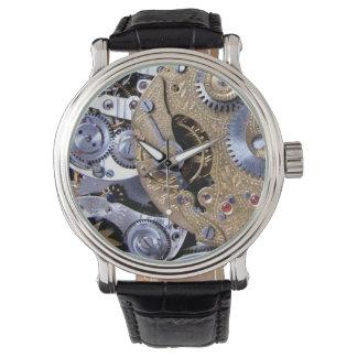 Tiempo de Steampunk - movimiento del latón de Relojes De Mano